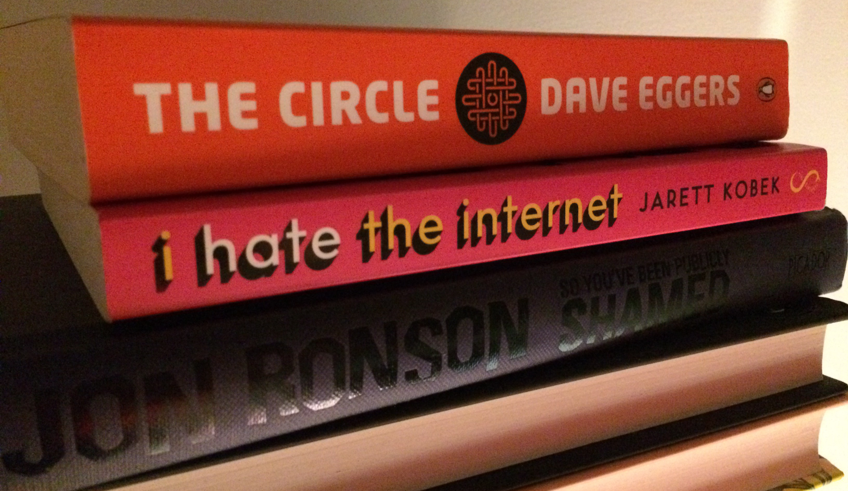 I hate the internet, So You've Been Publicly Shamed, The Circle